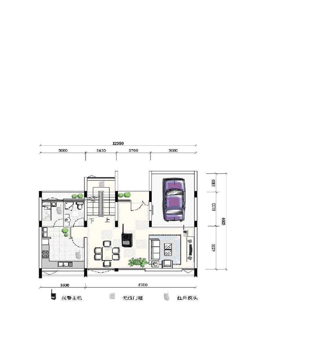 别墅电路设计实物图